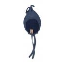 Tellimisel: Vanutatud villast tutiga beebimüts, tumesinine