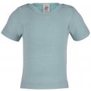 Upon order: Baby wool-silk shirt short sleeved
