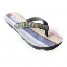 Maasai Treads, women, kikoy navy glitter strap