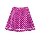 Organic cotton-hemp skirt with pattern