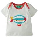 Zeppelins in Pale Aqua T-shirt