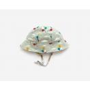 Pale Aqua Balloons Reversible hat