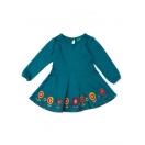 Biscan bay embroidered flower dress