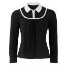 Iris jersey blouse
