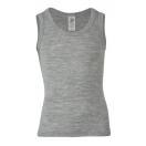 Children's shirt sleevless (wool/silk)