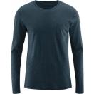 Men's long-sleeved shirt Bruce, night blue