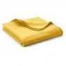Ökopuuvillane pleed Cambridge, kollane